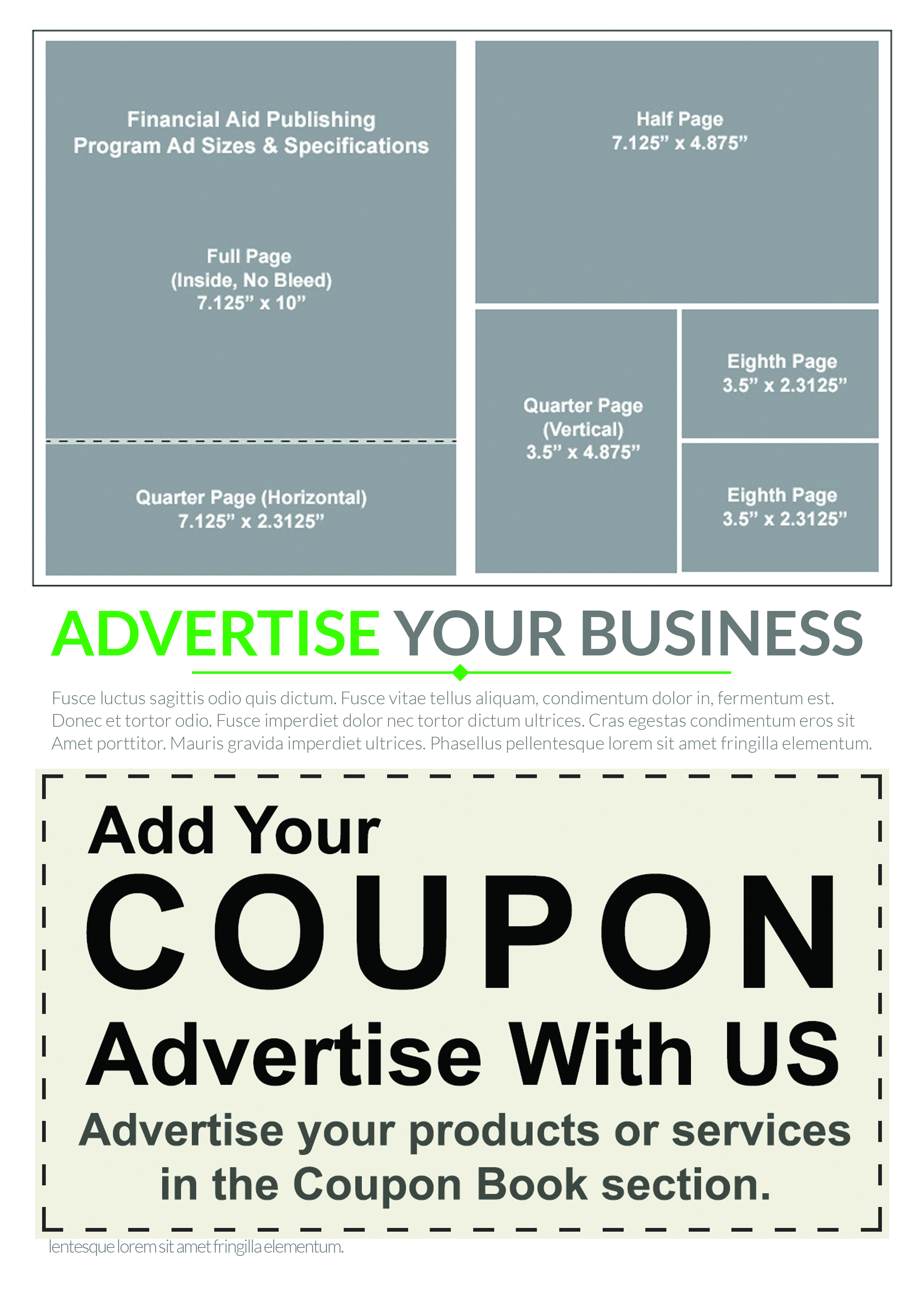 Advertise Your Business | Sponsor The Scholarship Workbook (Chicago ...